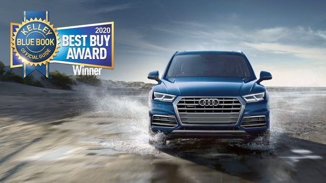 Audi Kelley Blue Book Best Buy Award 2020
