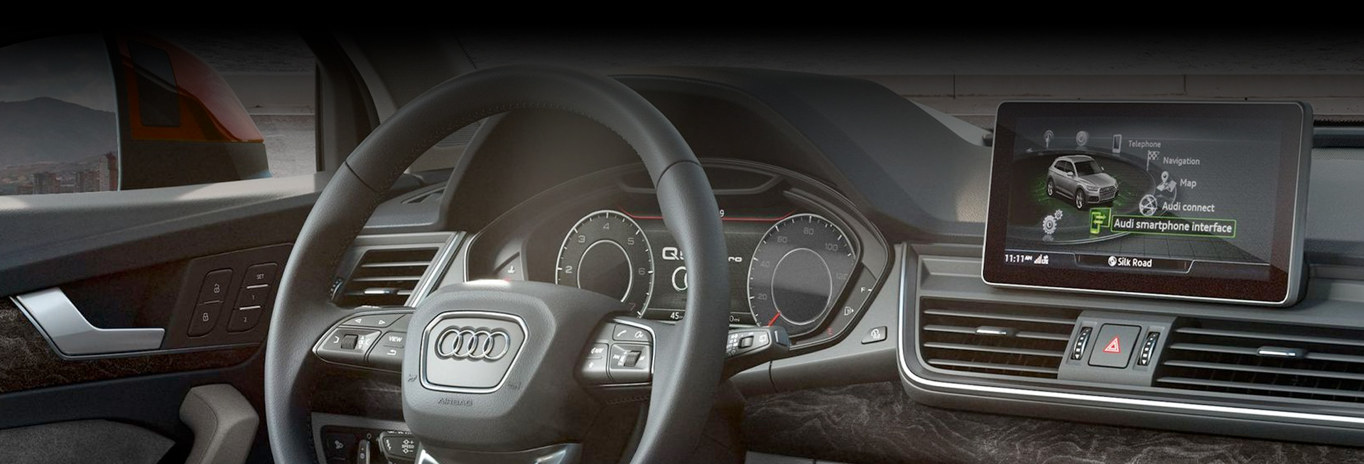 2020 Audi Q5 - Dashboard and Digital Cockup
