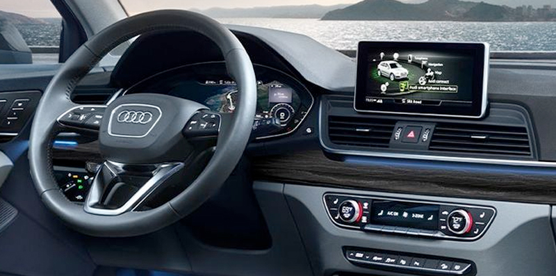 2020 Audi Q5 - Dashboard and Audi Connect