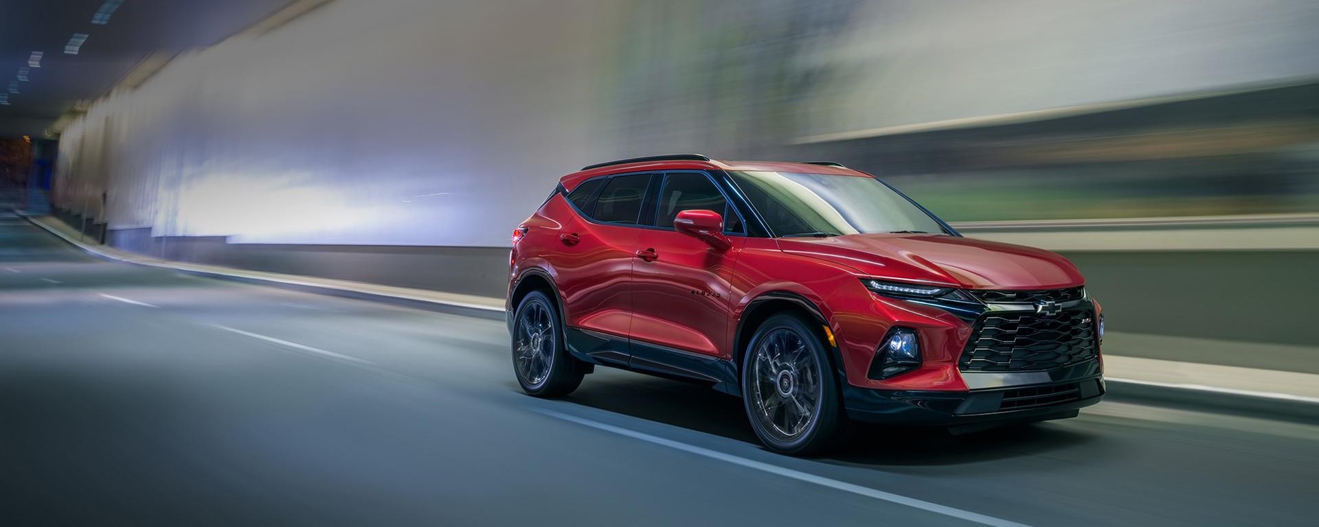 2020 Chevrolet Blazer Front Passenger 3/4 View