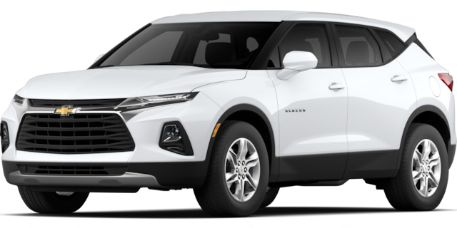 2020 Chevrolet Blazer L Model Cut-Out