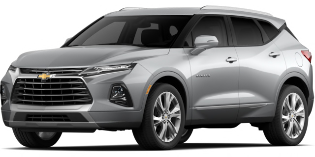 2020 Chevrolet Blazer Premier Model Cut-Out