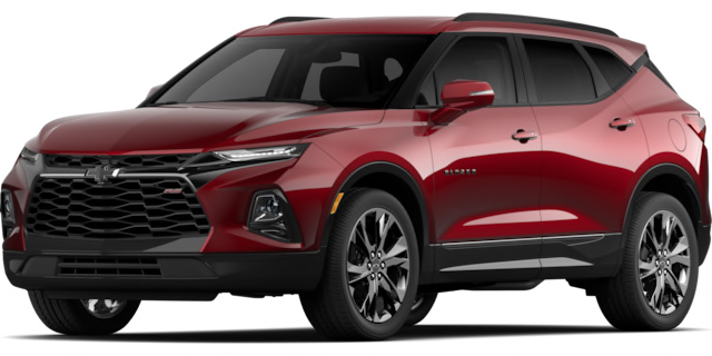 2020 Chevrolet Blazer RS Model Cut-Out
