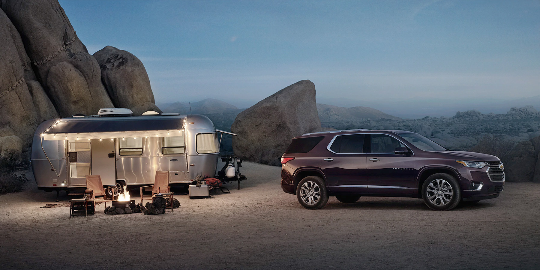 2020 Chevrolet Traverse - With Camper On Moutain