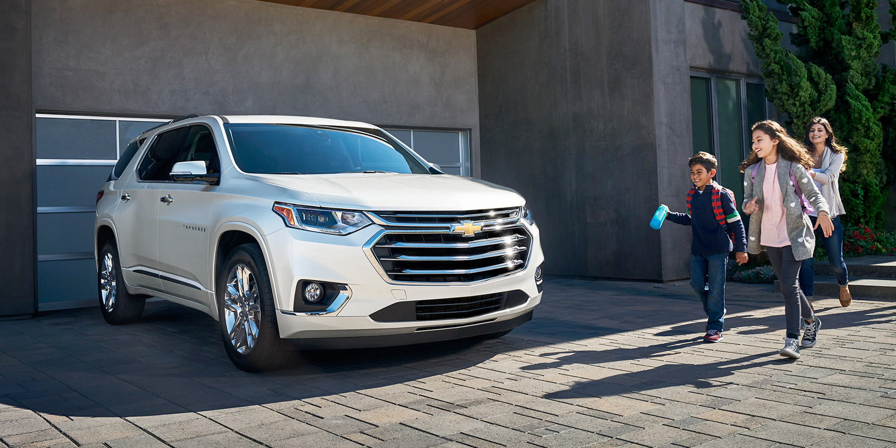 2020 Chevrolet Traverse - In Driveway with Family