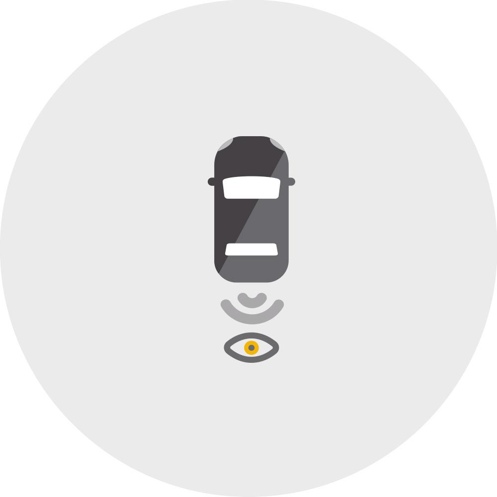 2020 Chevrolet Traverse Standard Rear Vision Camera Icon