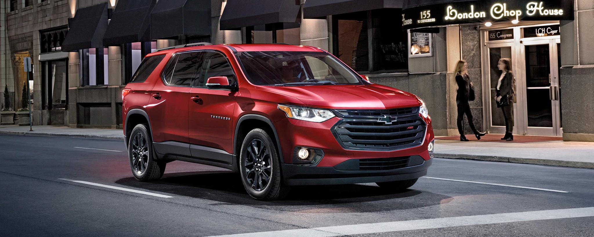 2020 Chevrolet Traverse Front Passenger 3/4 View