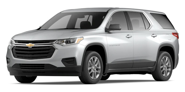 2020 Chevrolet Traverse L Model Cut-Out