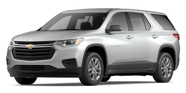 2020 Chevrolet Traverse LS Model Cut-Out