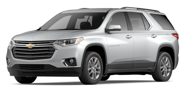 2020 Chevrolet Traverse LT Leather Model Cut-Out