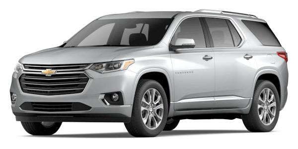 2020 Chevrolet Traverse Premier Model Cut-Out