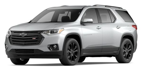 2020 Chevrolet Traverse RS Model Cut-Out