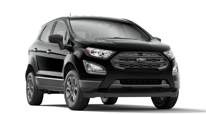 2020 Ford EcoSport S Model Cut-Out