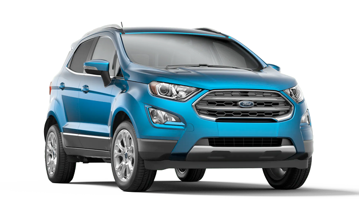 2020 Ford EcoSport Titanium Model Cut-Out
