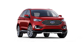 2020 Ford Edge Titanium Model Cut-Out