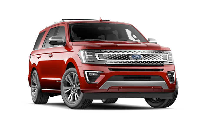 2020 Ford Expedition Platinum Model Cut-Out