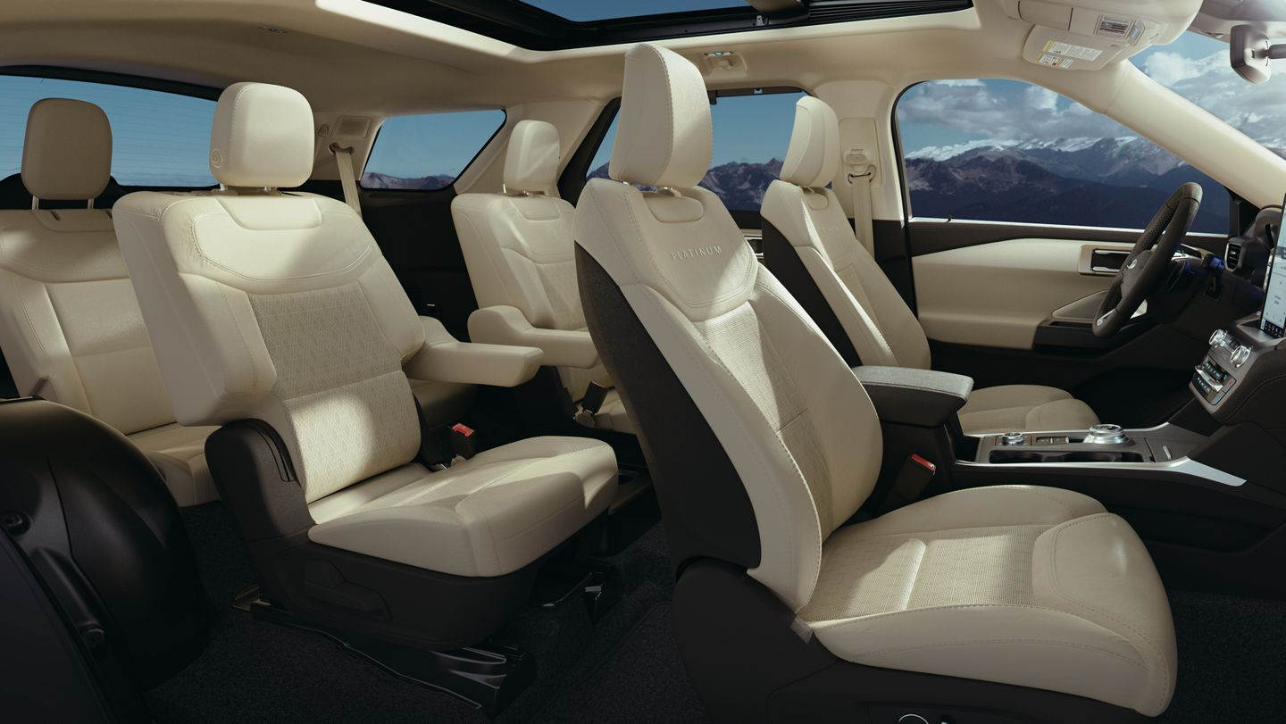 2020 Ford Explorer - Seating