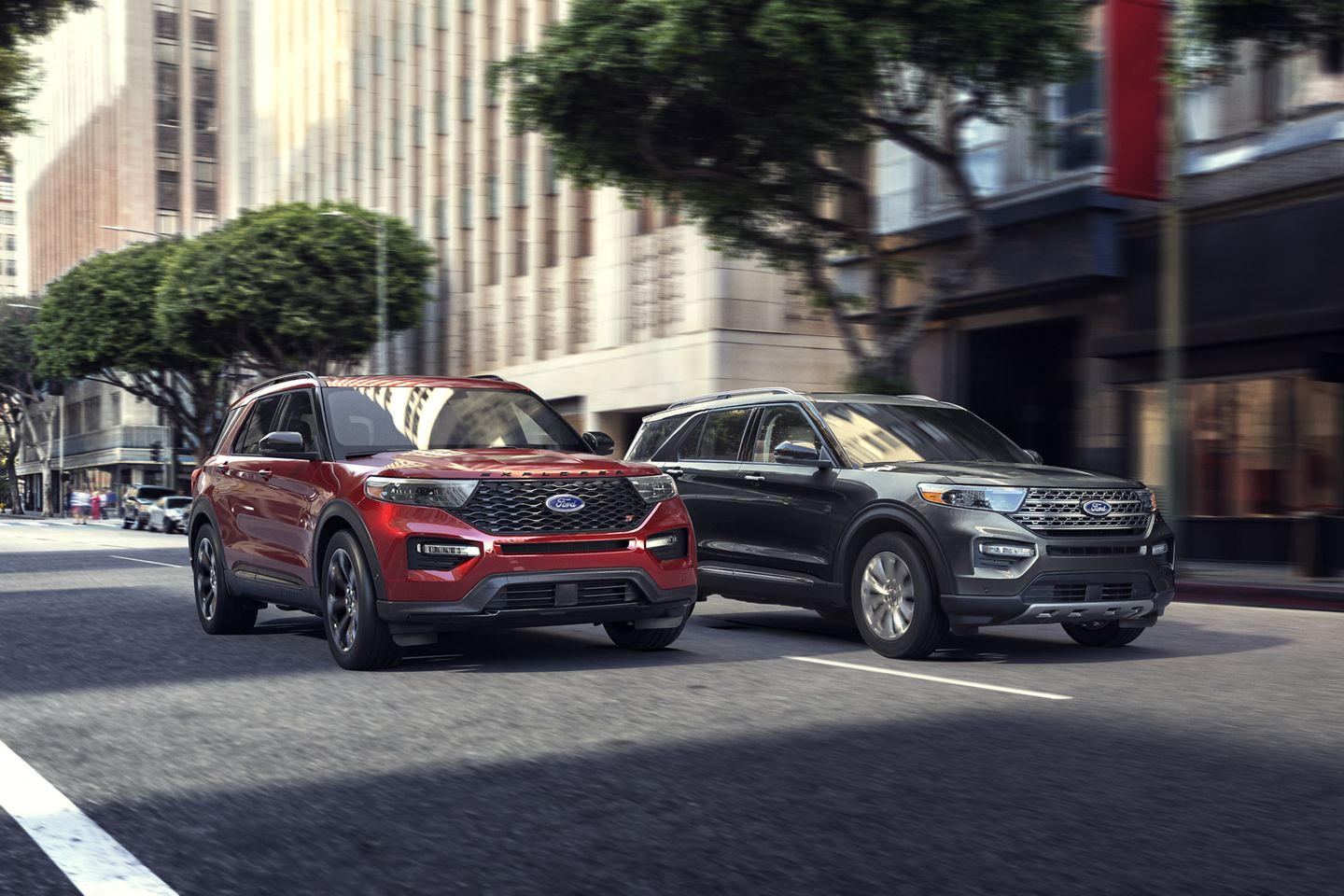 2020 Ford Explorer - New Trims