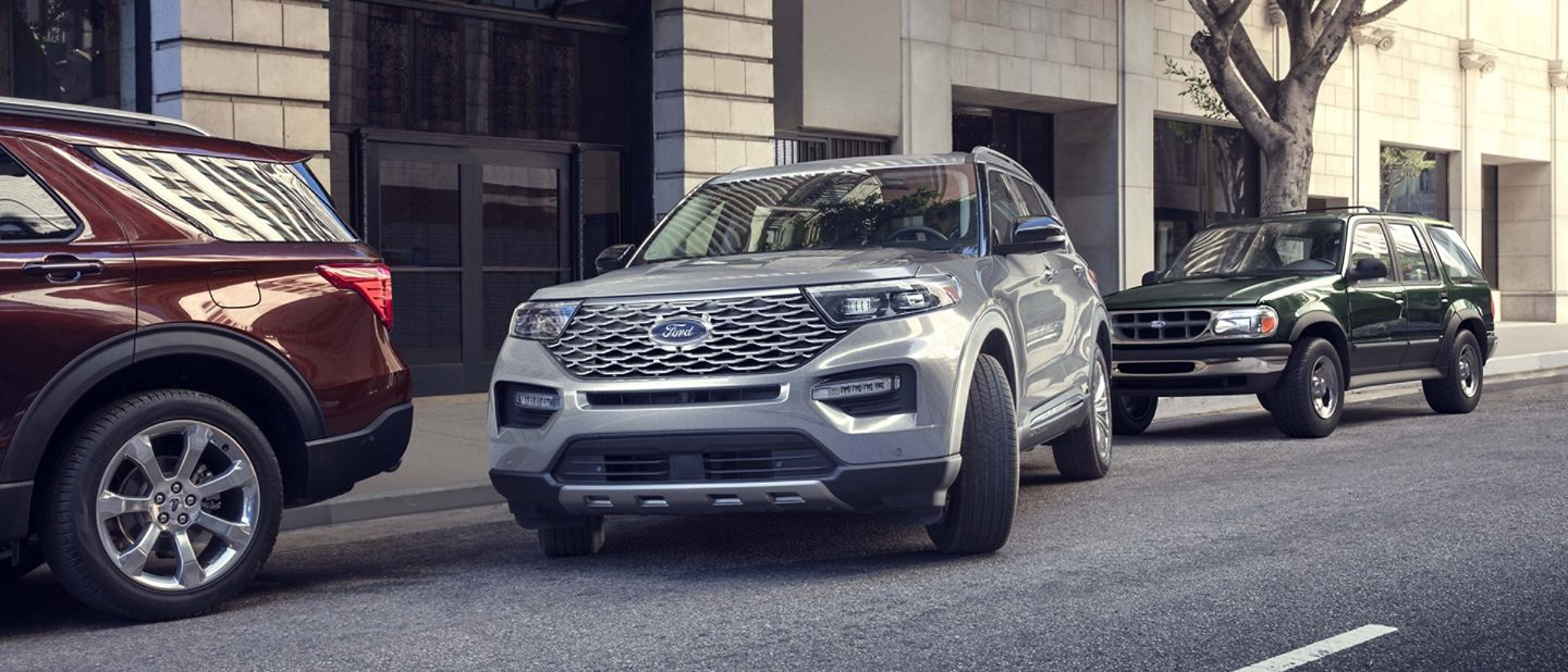 2020 Ford Explorer - Active Park Assist
