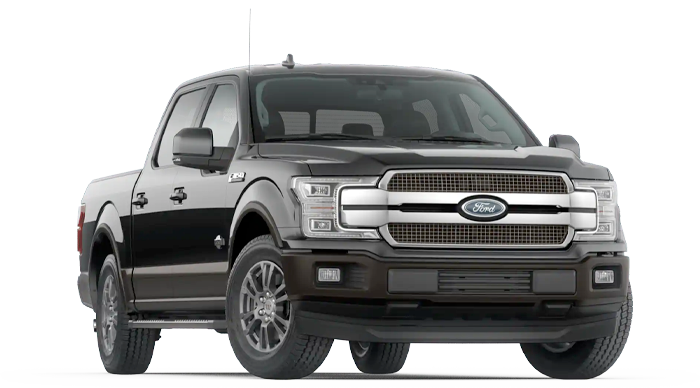 2020 Ford F-150 King Ranch Model Cut-Out