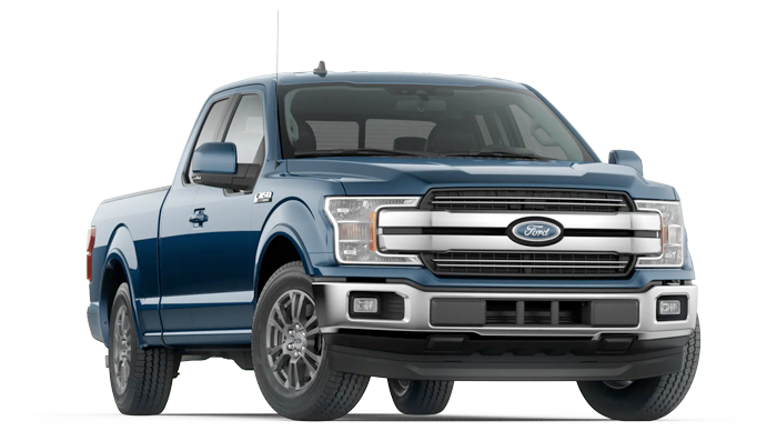 2020 Ford F-150 Lariat Model Cut-Out