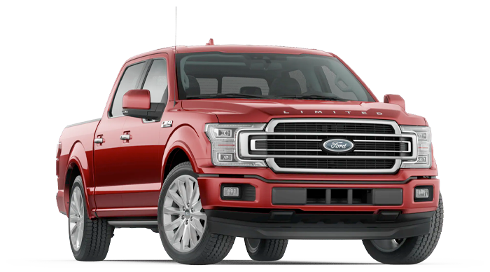 2020 Ford F-150 Limited Model Cut-Out