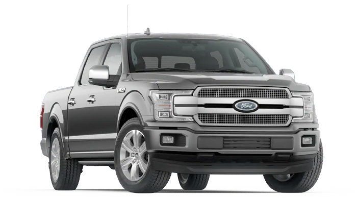 2020 Ford F-150 Platinum Model Cut-Out