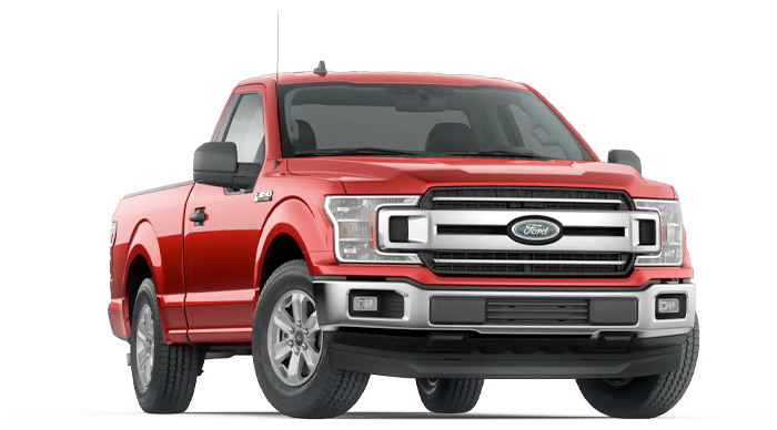 2020 Ford F-150 XLT Model Cut-Out