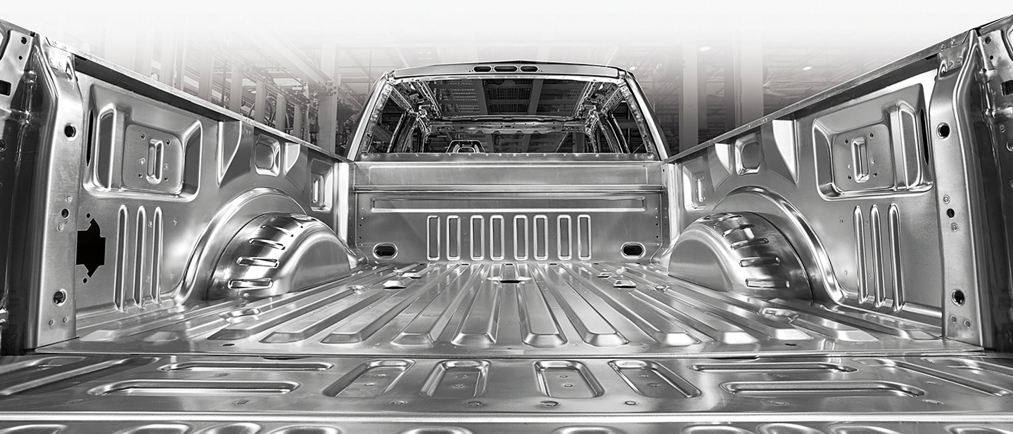 2020 Ford Super Duty Aluminum-Alloy Body