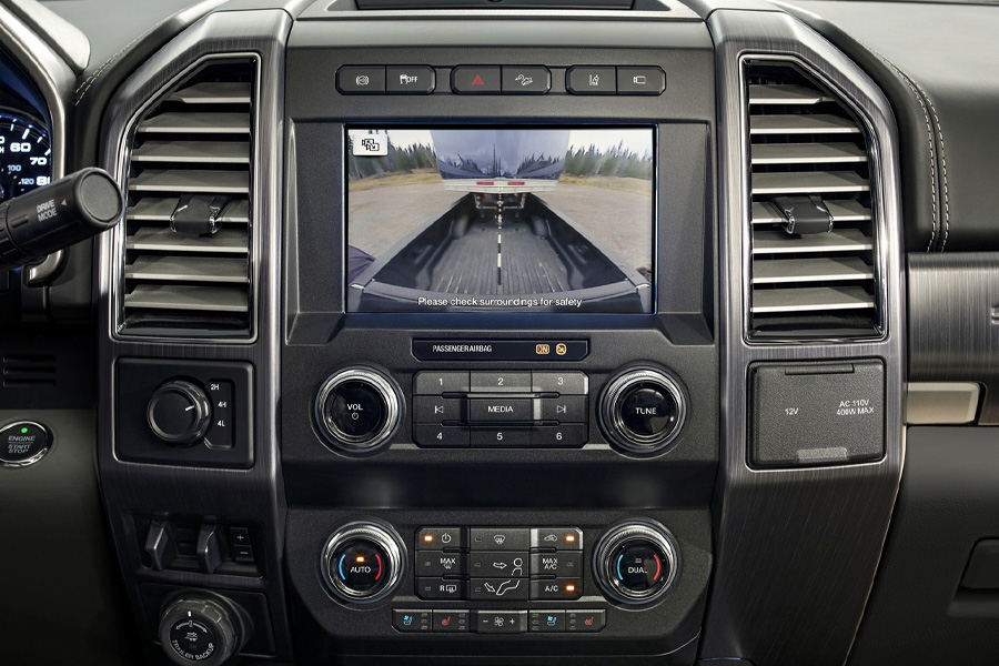 2020 Ford Super Duty dashboard