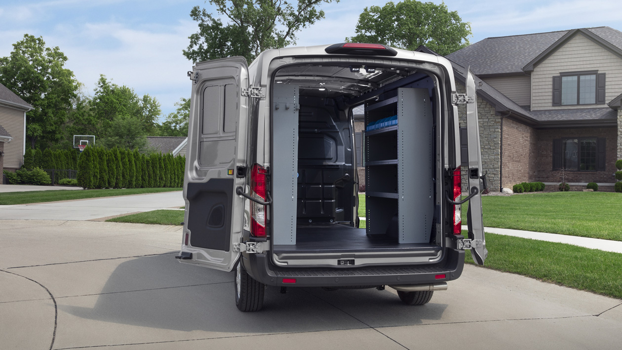 2020 Ford Transit Cargo Van - Interior Design