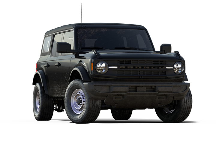 2021 Ford Bronco Base Cutout
