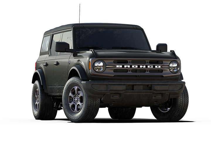 2021 Ford Bronco Big Bend Cutout