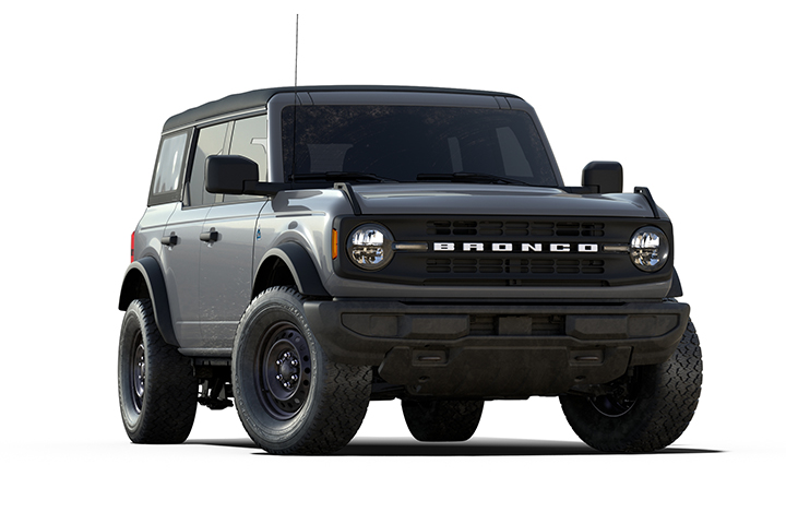 2021 Ford Bronco Black Diamond Cutout