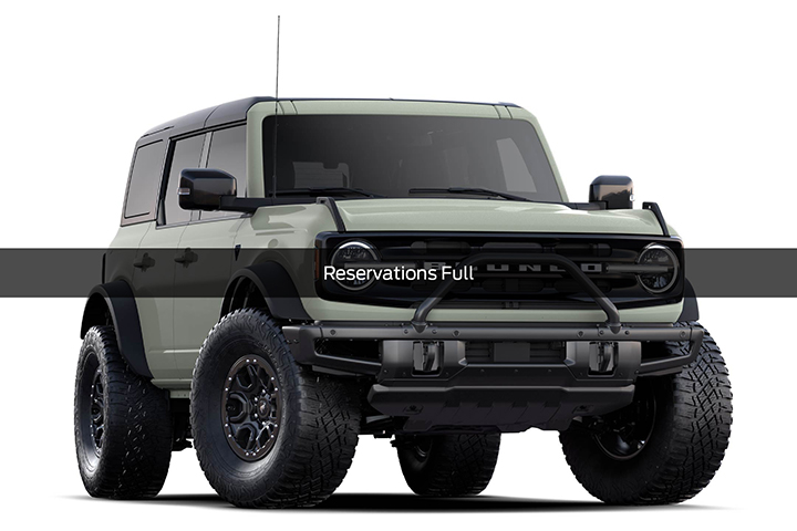 2021 Ford Bronco First Edition Cutout