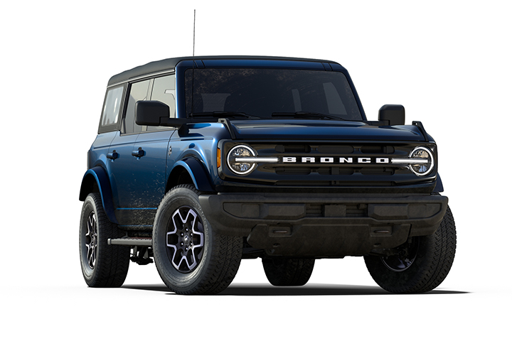 2021 Ford Bronco Outer Banks Cutout