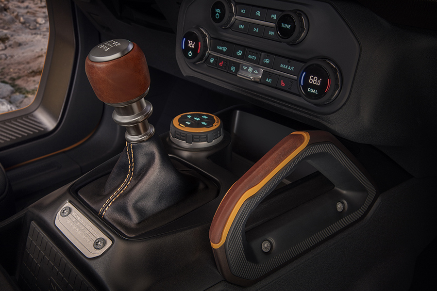 Bronco Gear & Differential Shifters