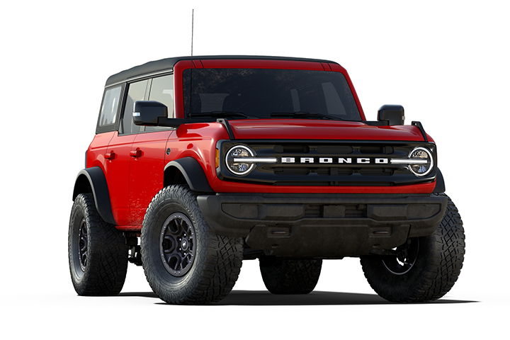 2021 Ford Bronco Wildtrak Cutout