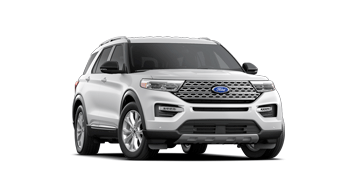 2021 Ford Explorer LIMITED in Oxford White
