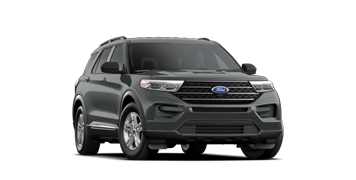 2021 Ford Explorer X L T in Carbonized Gray