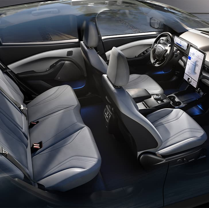 2021 Mustang Mach-E Spacious Interior