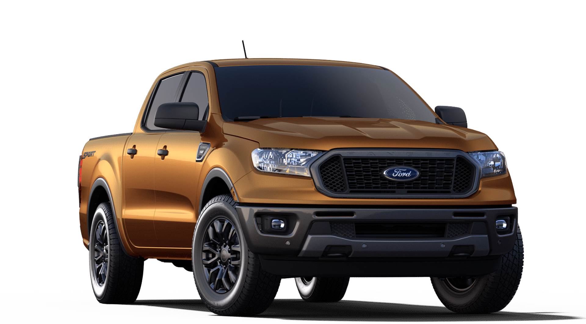 2019 Ford Ranger XLT Crew Cab 4X4 shown