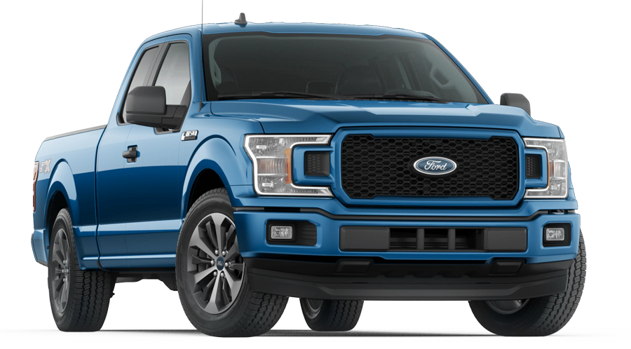 2020 Ford F-150 STX Supercab shown