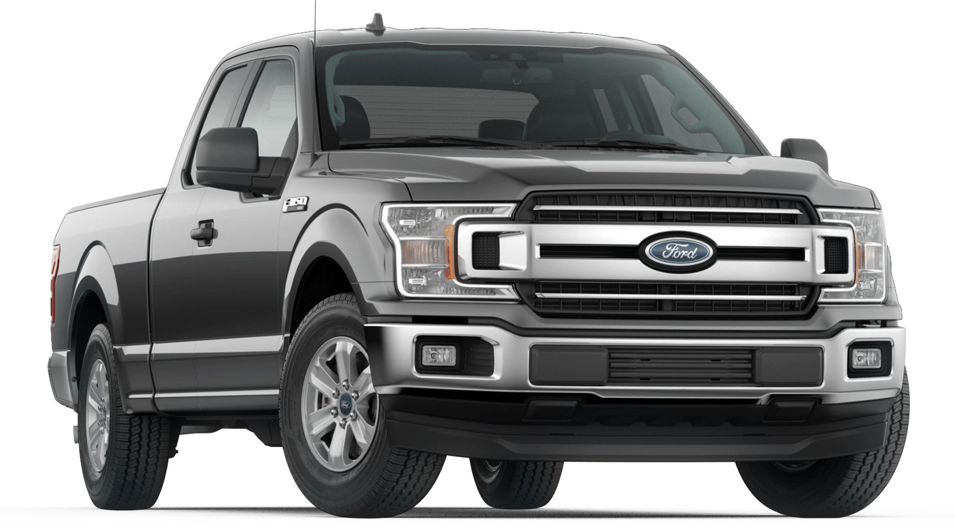 2020 Ford F-150 XLT Supercab shown