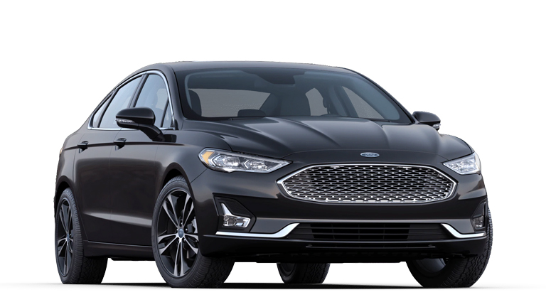2020 Ford Fusion Titanium shown