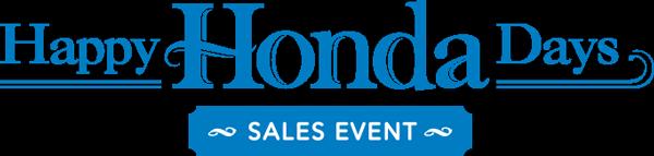 Happy Honda Days Sales Event logo