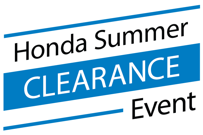 Honda Summer Clearance Event