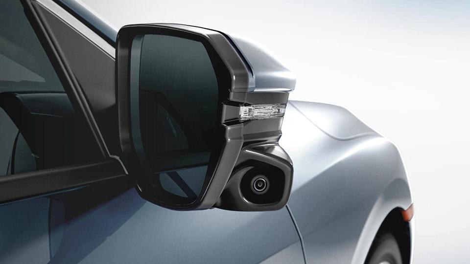 Passenger Mirror With Camera