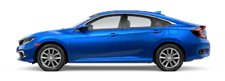 2020 Honda Civic EX-L Model Cut-Out