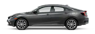 2020 Honda Civic EX Model Cut-Out